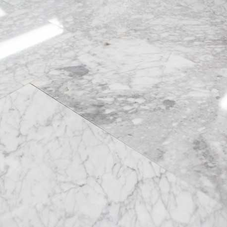 Carrelage 100 Marbre Blanc Poli Carrare 30x40 Cm Marbre