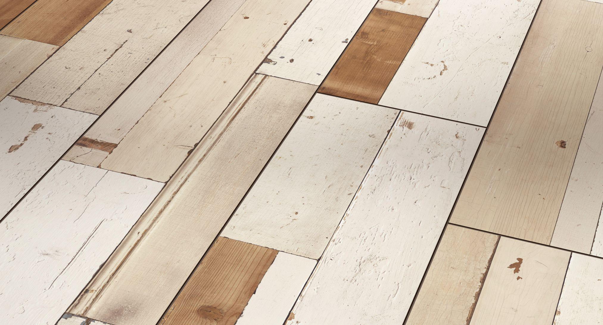 Suelo laminado Parador Trendtime 6 Brushboard White 1567475