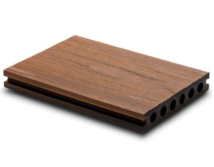 Tarima exterior sintética Urban Deck Top Duo Teca/Ipe
