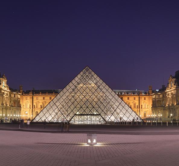 Panneaux en bois Chêne Musée du Louvre