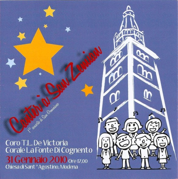 Locandina concerto S. Geminiano