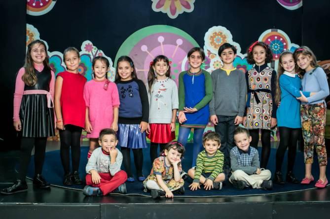 Zecchino d'Oro 2014 - I bambini della 57esima edizione (foto: Rai.it)