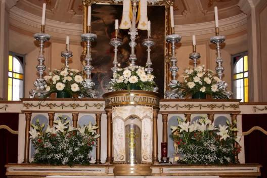 Chiesa di Viarolo - il tabernacolo