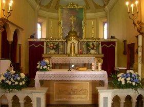 La Chiesa di Viarolo - il presbiterio
