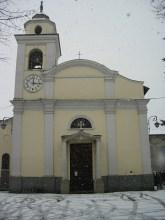 Chiesa di Viarolo - nevicata