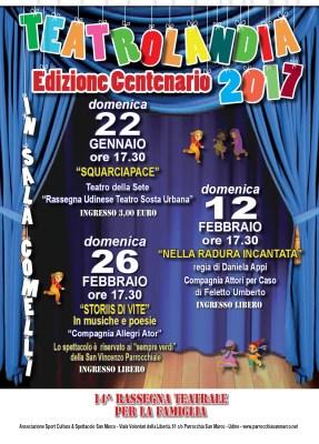 locandina Teatrolandia 2017