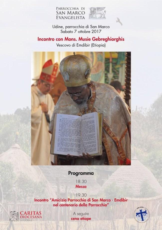 Locandina Vescovo Musiè