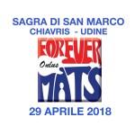 Sagra di San Marco 2018 - ospiti i Forever Mats