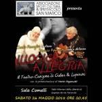 """Concerto """"Illogica allegria"""" Il Teatro-Canzone di Gaber & Luporini"""