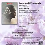 """Cineforum: proiezione del film sul tema dell'anoressia """"FINO ALL'OSSO"""""""