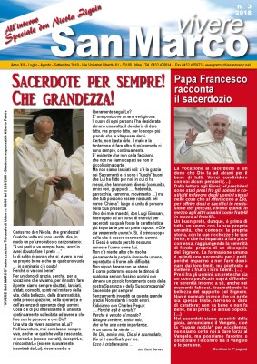 Vivere San Marco n. 3/2018