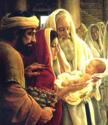 Presentazione Gesù al Tempio - luce