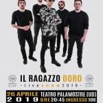 IL  RAGAZZO DORO- LIVE SHOW 2019