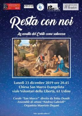 Locandina Concerto di Natale 2019