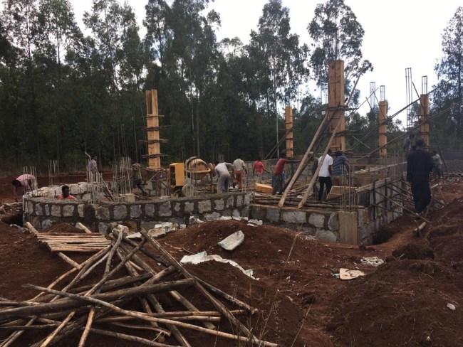 Stato avanzamento lavori chiesa Etiopia 01