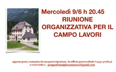 2021 riunione organizzativa campo lavori Pierabech