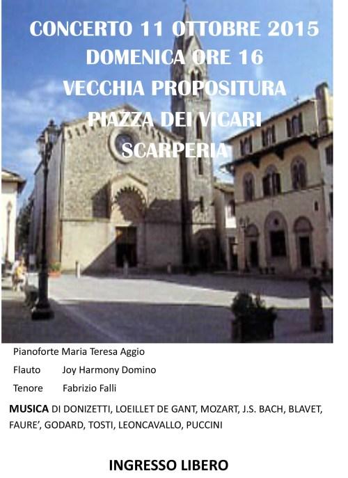 Concert poster Scarperia