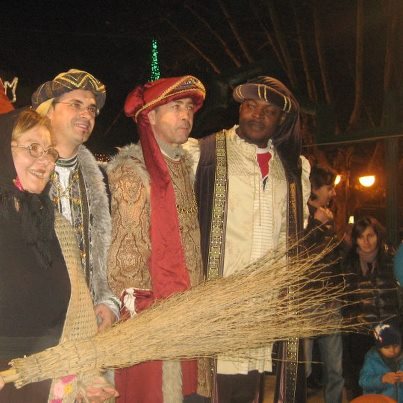 Viserba, 6 gennaio 2013, festa della befana