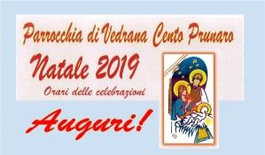 Orari delle celebrazioni del Natale – Vedrana Cento Prunaro