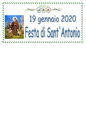 Benedizione degli animali in occasione della Festa di Sant'Antonio Abate a VEDRANA