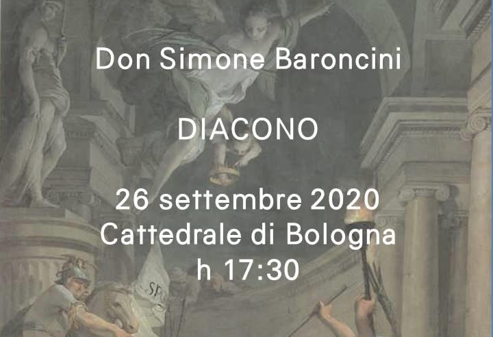 Don Simone Baroncini – DIACONO
