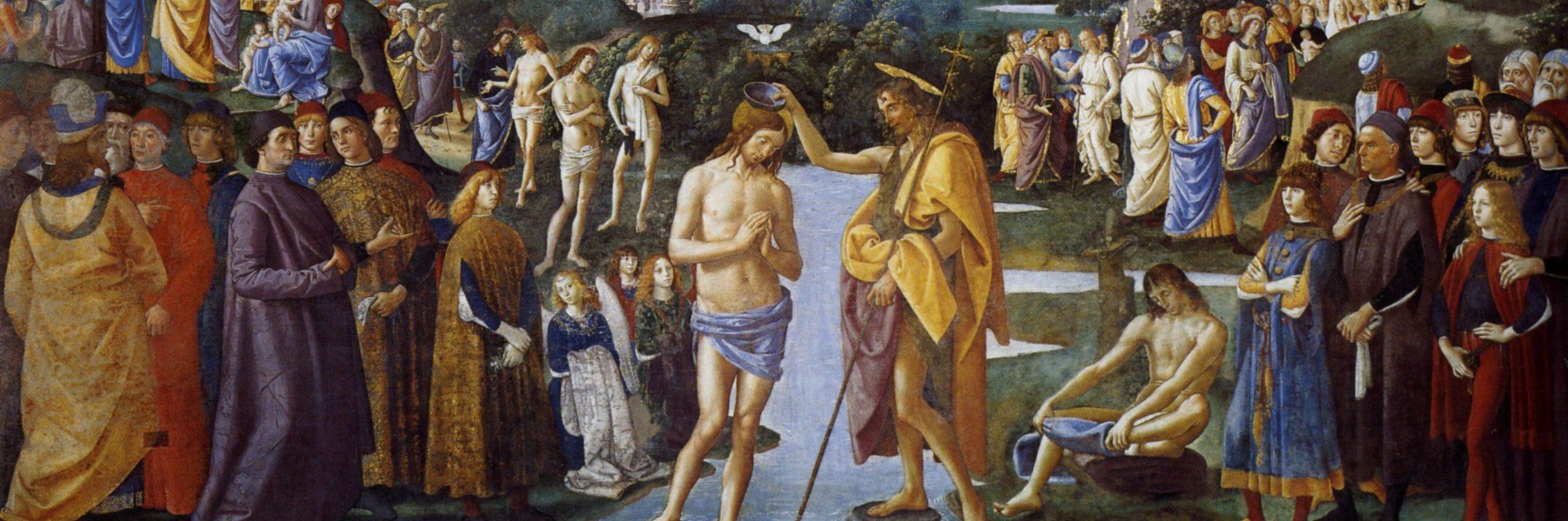 battesimo gesù