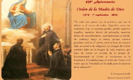 439° Aniversario de la Orden Madre de Dios