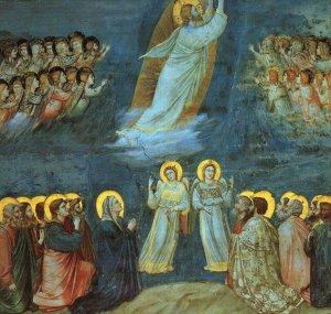 """""""Ascensión del Señor"""". Giotto (siglos XIII-XIV)."""