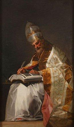 San Gregorio Magno, Papa.