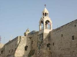 """""""Basílica de la Natividad"""" en la ciudad de Belén."""