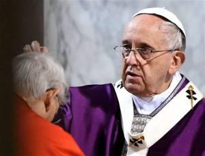Miércoles de Ceniza.8.Papa Francisco