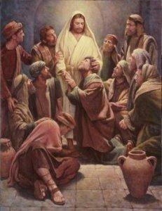 Resucitado.Aparición a los discípulos