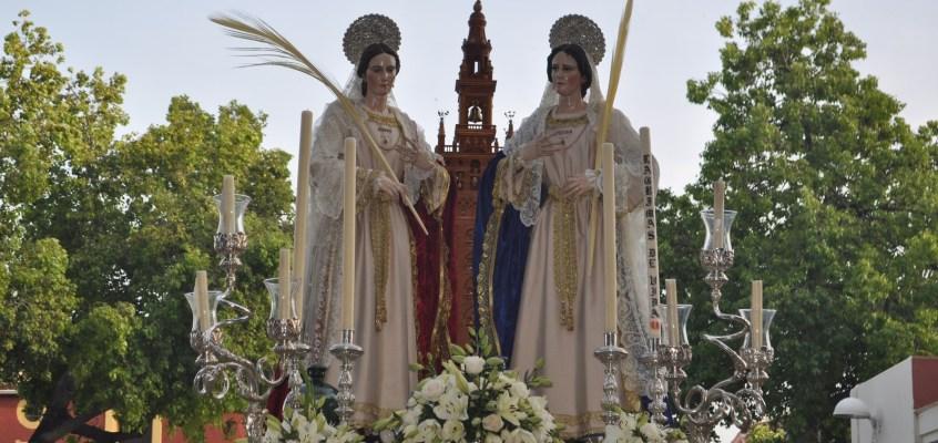 Procesión de las Santas Justa y Rufina. 24 de junio de 2017