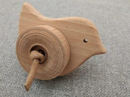 wood bird foot toy