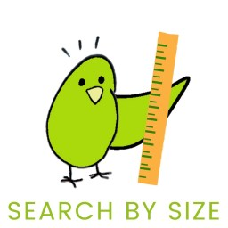 search for natural parrot toys by size