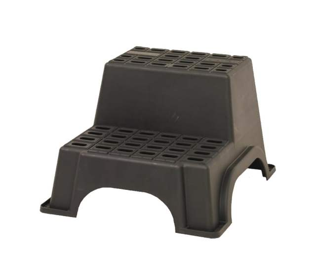 Parrs Heavy Duty Plastic Step Stool 2 Step