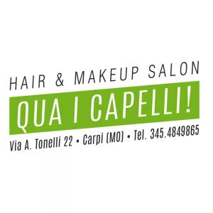 Logo Qua i Capelli! - Hair & Makeup Salon