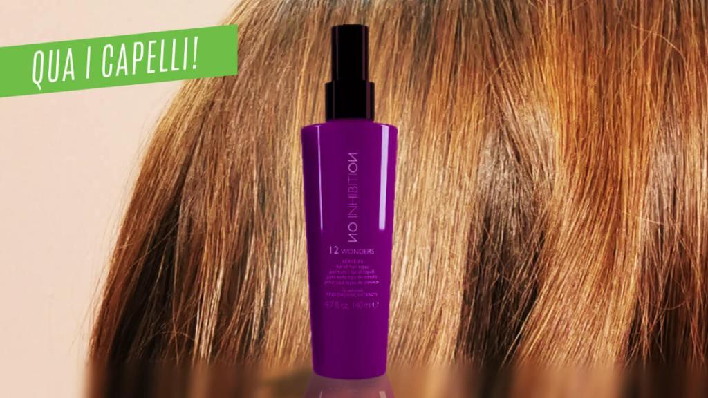 Prodotto professionale per tutti i tipi di capelli
