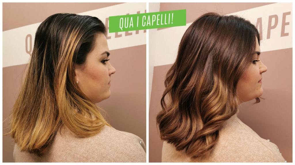 Quando tonalizzare i capelli decolorati - Prima e dopo