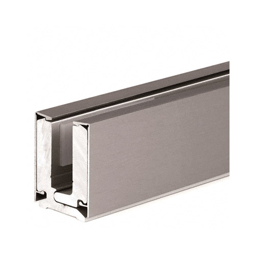 4 Metre Clamping Profile 12mm Brushed Nickel