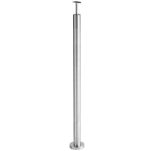 Brushed Stainless Steel 180 Degree Balustrade Post Kit