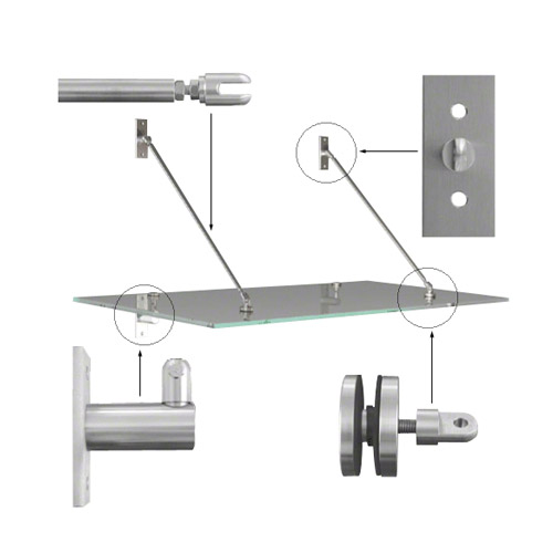 Canopy kit, for 1000mm overhang