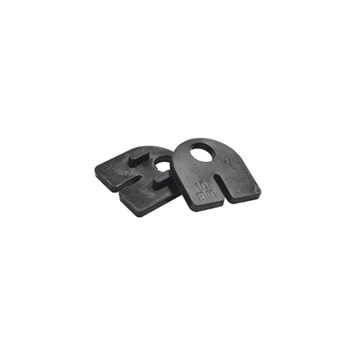 Rubber gaskets for PAREUZFBBS clamp, 10mm glass