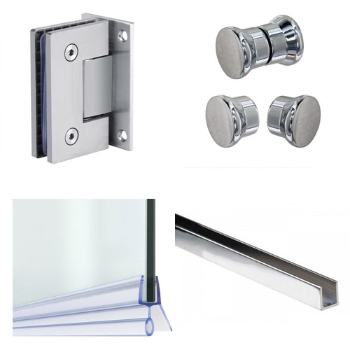 Showers Glass Fittings
