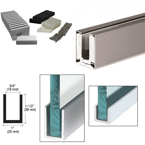 Glass Partitioning Channels