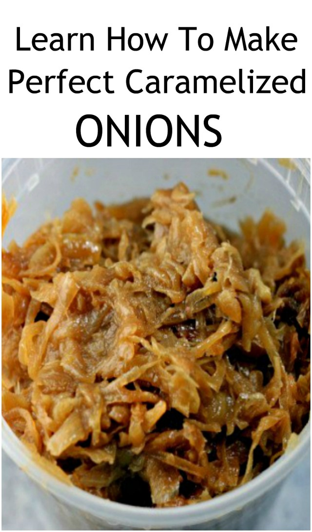 PERFECT Caramelized Onions. SO sweet and jammy, and they can be used tons of ways, in loads of dishes: pasta, soups, flatbreads, pizza, dips etc! The flavor is out of this world!