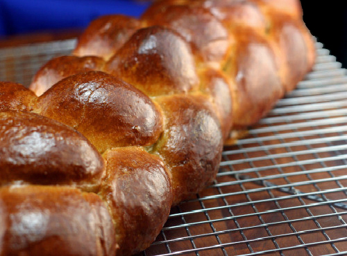 Chocolate Cinnamon Swirl Challah and How to Braid a 3-strand, 4-strand, 5-strand, 6-strand, 7-strand, 8-strand, or 9-strand Challah, or Any Type of Braided Loaves!