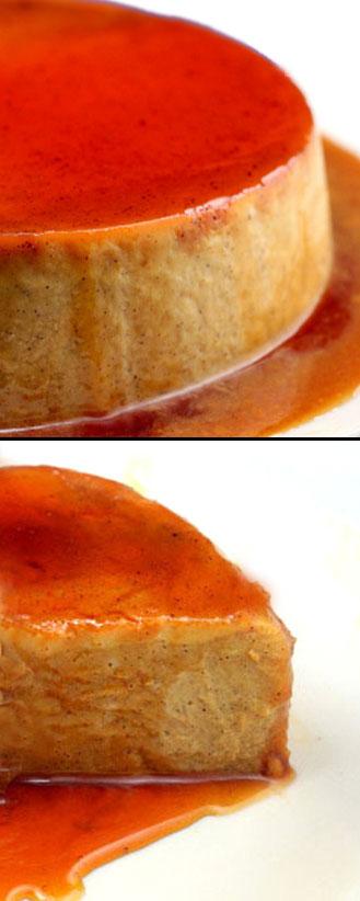 Pumpkin Vanilla Bean Flan