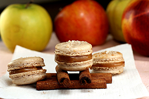 Fleur de Sel Cinnamon Caramel Apple Macarons and Holiday Cookie Baking! I've got 5 unique cookie recipes, the best brownies ever, and two unique macaron recipes for your holiday cookie baking!