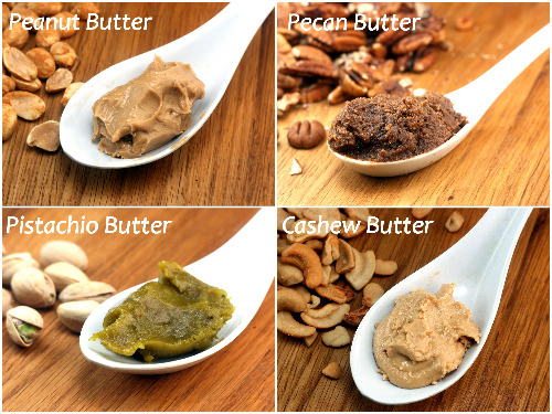 Peanut Butter is not the only Nut Butter! Homemade Nut Butters + 4 Recipes Using Them!